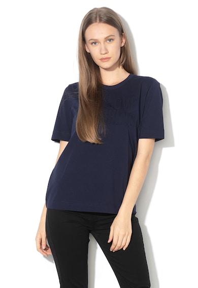 Love Moschino Tricou cu logo stantat Femei