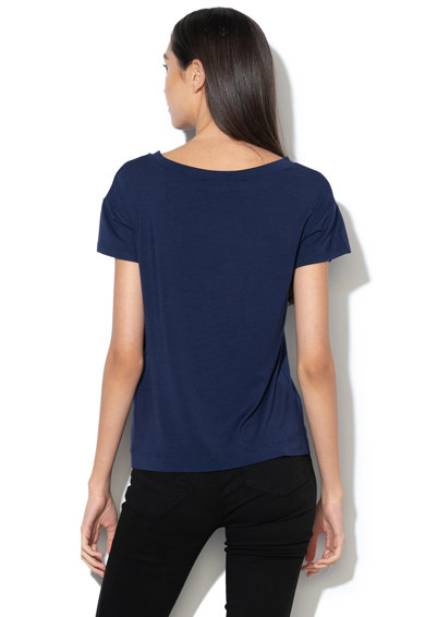 Love Moschino Tricou din amestec de modal, cu logo Femei