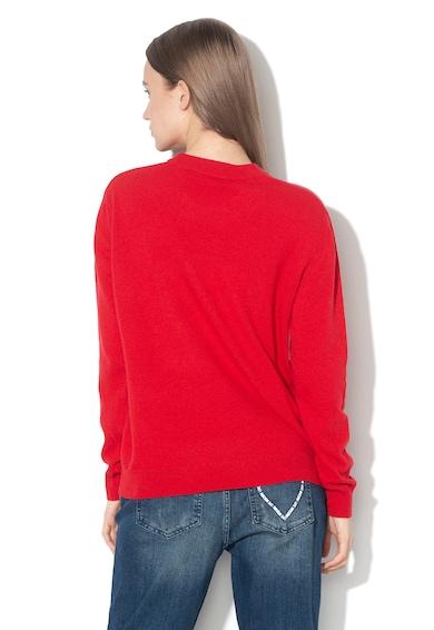Love Moschino Pulover din amestec de lana, cu imprimeu grafic Femei