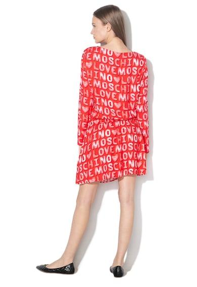 Love Moschino Rochie mini cu imprimeu logo Femei