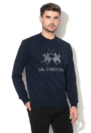 LA MARTINA Bluza sport regular fit cu imprimeu logo Barbati