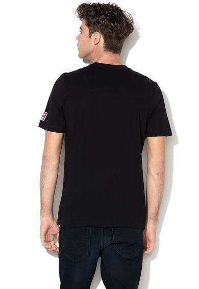 Diesel Just Division póló texturált logós foltrátéttel férfi