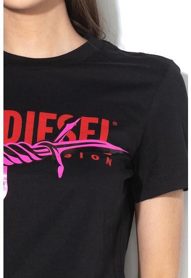 Diesel Hera logómintás pamutpóló női