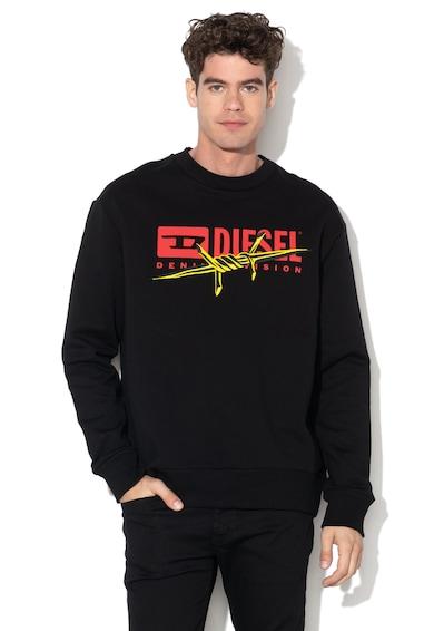 Diesel Bluza sport cu imprimeu logo Felpa Barbati