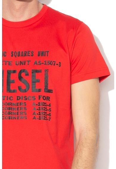 Diesel Tricou cu imprimeu text Diego Barbati