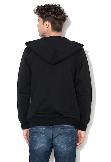 Diesel Gir feliratos kapucnis pulóver férfi