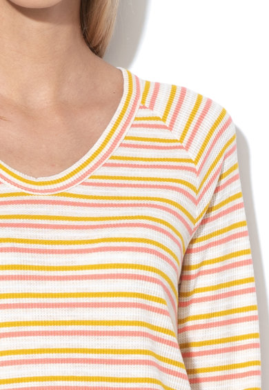GAP Bluza din amestec de modal, cu imprimeu in dungi Femei
