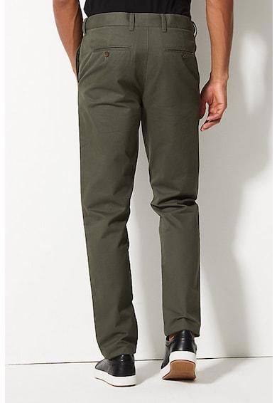 Marks & Spencer Pantaloni chino cu croiala conica Barbati
