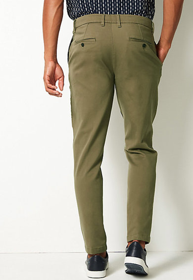 Marks & Spencer Pantaloni chino Barbati