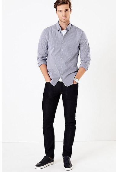 Marks & Spencer Camasa cu maneci lungi si model in dungi Barbati