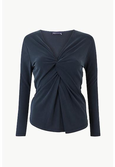 Marks & Spencer Bluza din amestec de modal, cu decolteu in V Femei