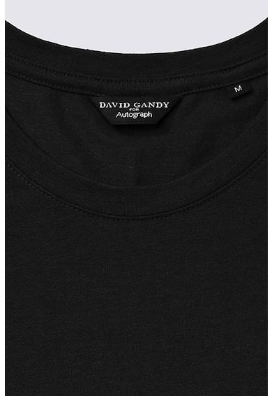 Marks & Spencer Tricou din amestec de modal, cu decolteu la baza gatului Barbati