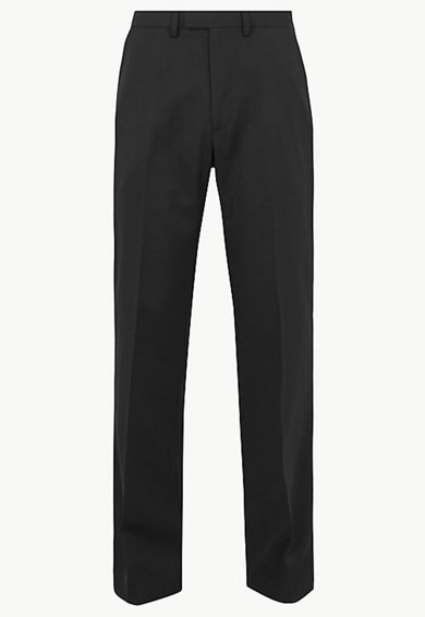 Marks & Spencer Pantaloni regular fit din amestec de lana Barbati