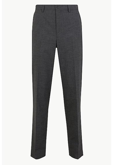 Marks & Spencer Pantaloni regular fit cu gaici pentru curea Barbati