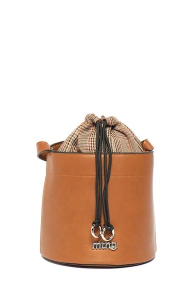 MTNG Geanta bucket de piele ecologica Kadiri Femei