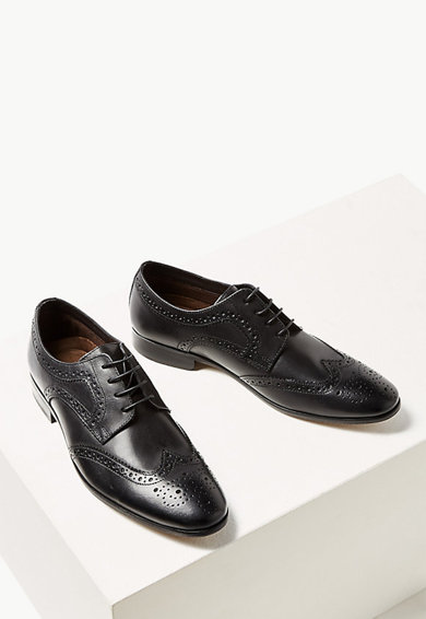 Marks & Spencer Pantofi derby de piele Barbati