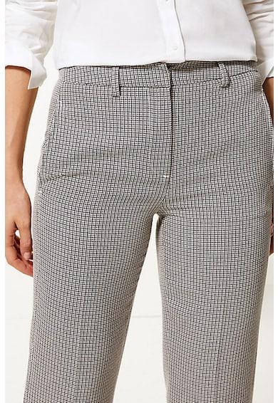Marks & Spencer Pantaloni cu croiala dreapta si model in carouri Femei