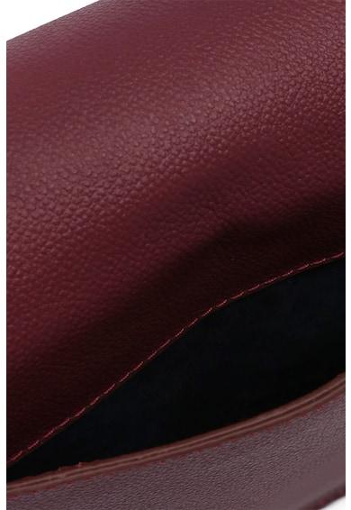Beverly Hills Polo Club Geanta de piele cu bareta de umar si aplicatie logo Femei
