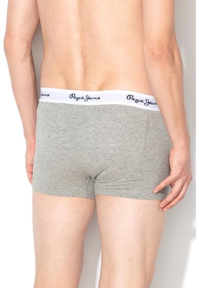 Pepe Jeans London Set de boxeri cu banda logo elastica in talie Beecher - 3 perechi Barbati