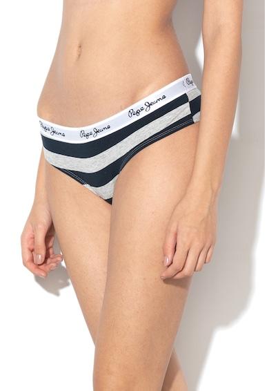 Pepe Jeans London Set de chiloti cu imprimeu Judy - 3 perechi Femei