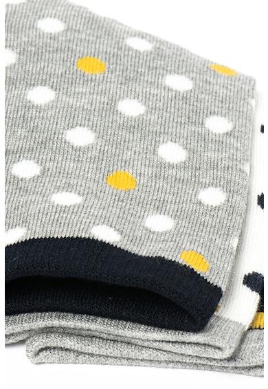 Pepe Jeans London Set de sosete lungi cu buline Darla - 3 perechi Femei