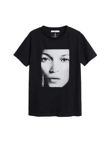 Mango Tricou cu model grafic Kate Femei