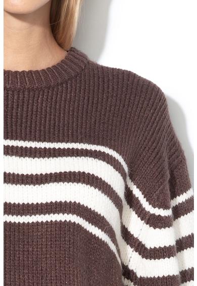 Vila Pulover tricotat, cu dungi Kinda Femei