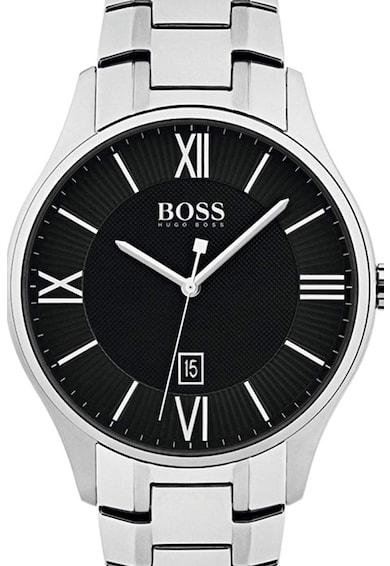 HUGO BOSS Кварцов часовник от инокс Мъже