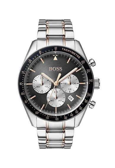 HUGO BOSS Часовник с метална верижка и хронометър Мъже