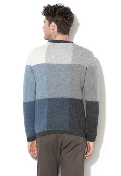 Selected Homme Pulover din amestec de lana, in carouri Pixel Barbati
