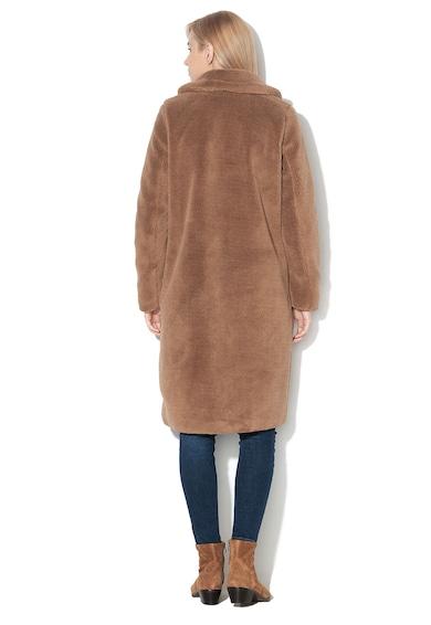 Vero Moda Palton din material teddy, cu revere Holy Femei