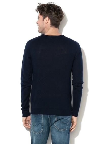Jack&Jones Pulover tricotat fin, din lana Merinos Mark Barbati