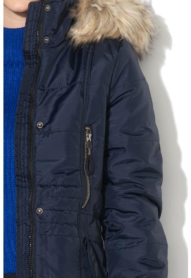 Vero Moda Jacheta parka cu garnitura de blana sintetica detasabila Typhoon Femei