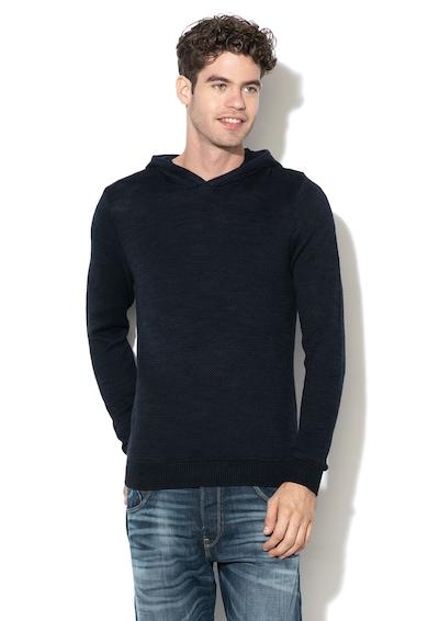 Jack&Jones Pulover tricotat, cu gluga Barbati