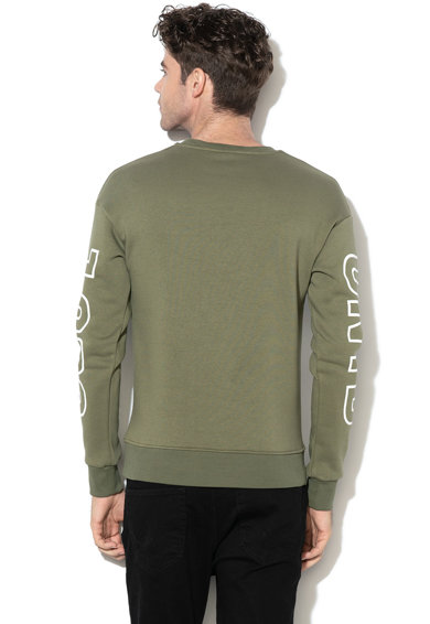 Jack&Jones Bluza sport relaxed fit cu model text Cephas Barbati