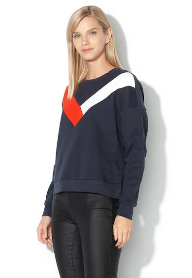 Only Bluza sport lejera cu model colorblock Femei