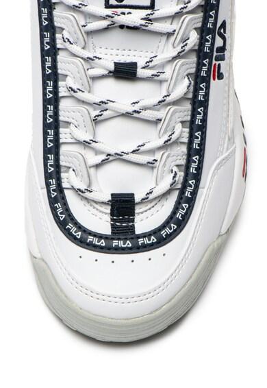 Fila Pantofi sport de piele ecologica, cu logo contrastant Disruptor Femei