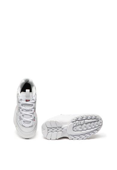 Fila Pantofi sport cu talpa masiva si garnituri de piele peliculizata D-Formation Femei