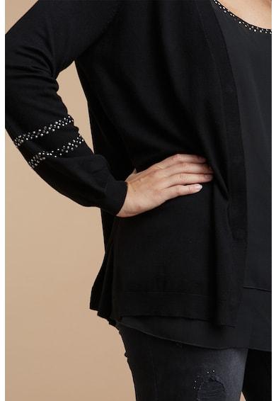 Fiorella Rubino Cardigan din tricot fin cu tinte Femei