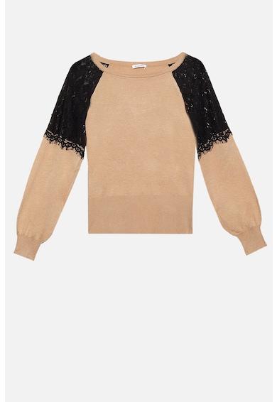 Motivi Pulover din tricot fin cu aplicatii de dantela Femei