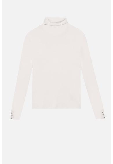 Motivi Pulover din tricot fin cu mansete cu nasturi Femei