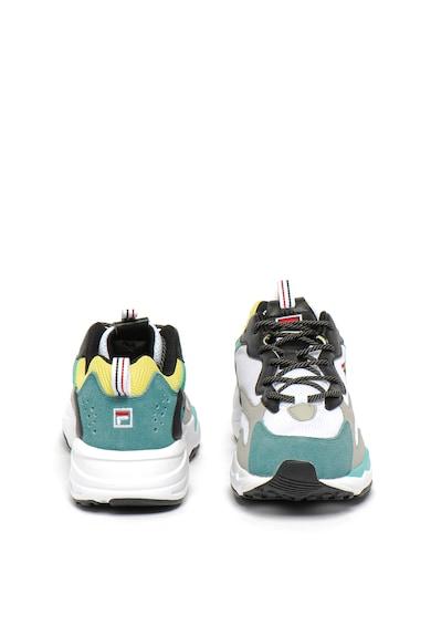 Fila Pantofi sport cu garnituri de piele ecologica si plasa Ray Tracer Barbati
