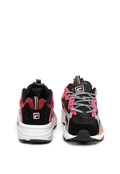 Fila Pantofi sport cu talpa masiva si insertii din piele Ray Tracer Femei