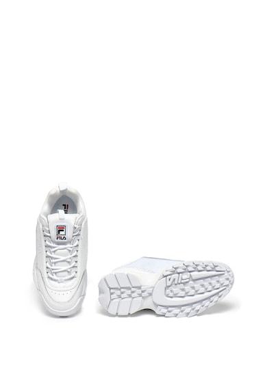 Fila Pantofi sport de piele, cu insertii din material textil Disruptor Femei