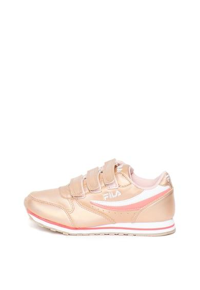 Fila Pantofi sport usori de piele ecologica Orbit Fete