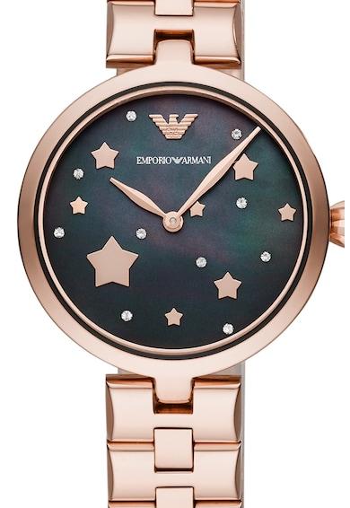 Emporio Armani Часовник от инокс Жени