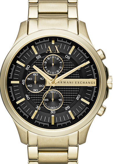 armani exchange Часовник от инокс с хронограф Мъже