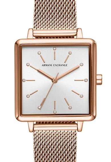 ARMANI EXCHANGE Часовник с мрежеста верижка Жени