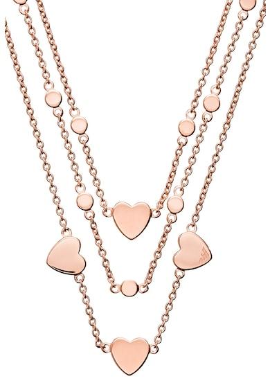 Emporio Armani Colier din argint veritabil cu detalii in forma de inima Femei