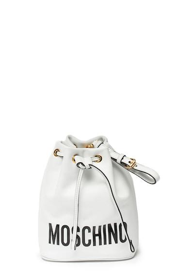 Moschino Geanta bucket cu imprimeu logo Femei